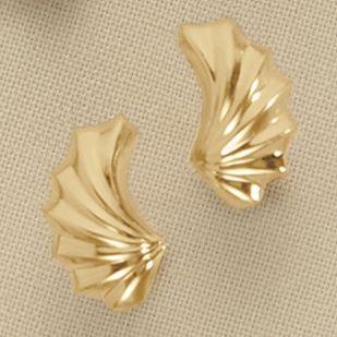 Wave Post Earrings
