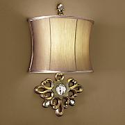 Golden LED Wall Lamp