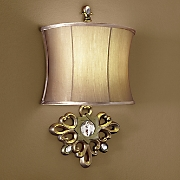 Golden LED Wall Lamp