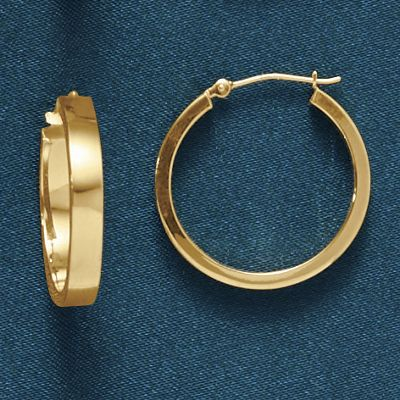 Edged Round Hoops