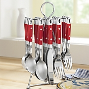 20 pc  hanging flatware set
