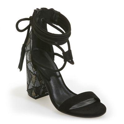 Diamond Back Ankle Strap by Midnight Velvet