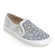 Pearl & Mesh Slip-On Shoe by Classique