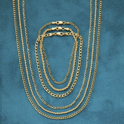 Gold Rope Necklaces