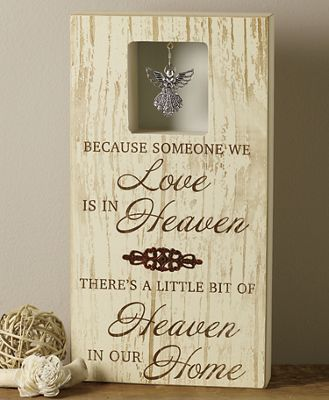 Love in Heaven Wall Sign