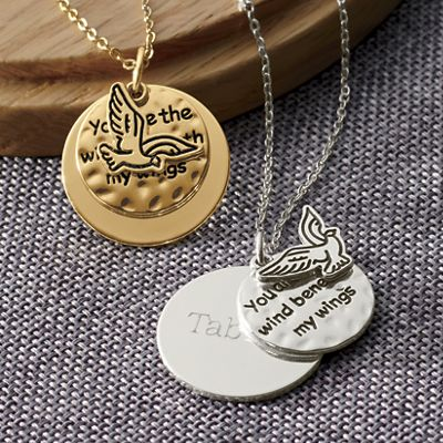 Personalized Prayer Pendant