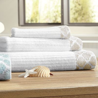 Shell Jacquard Towel Set