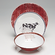 Farm Animal Dinnerware Set