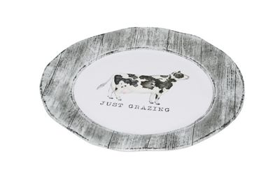 """Just Grazing"" Cow Platter"