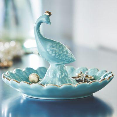 Peacock Ring Holder