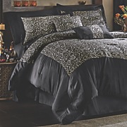 Zambia Complete Bedding Set, Accent Pillows and Window Treatments