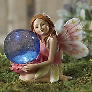 Solar Kneeling Garden Angel