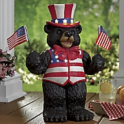 solar uncle sam bear