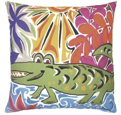 Alligator Pillow