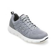 men s skechers lace up jogger shoe