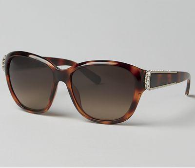 Tortoise Large Frame Sunglasses by Chloe