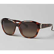 Tortoise Large Frame Sunglasses by Chloe