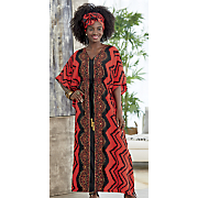 hadiya headwrap and caftan