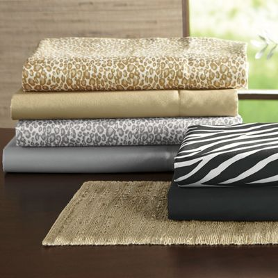 2-Pack Nightlife Microfiber Sheet Set