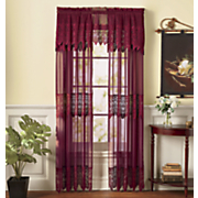 valerie panel with attached valance