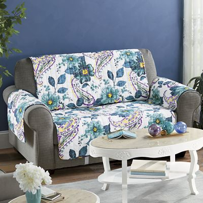 Floral Paisley Furniture Protector