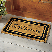 Colored Border Door Mats