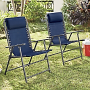 Folding Lounge Chair Set