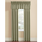 thermal rod pocket window treatments