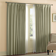 thermal pinch pleat window treatments