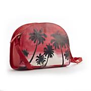 handpainted sunset bag
