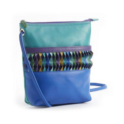 Peacock Bucket Bag