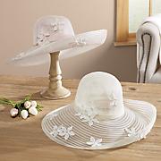 Sheer Petal Hat
