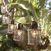 10 string bronze lights