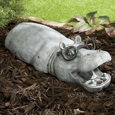 Garden Hippo Decoration