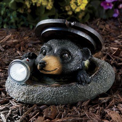 Solar Bear with Flashlight