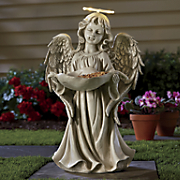 Solar Angel Bird Feeder