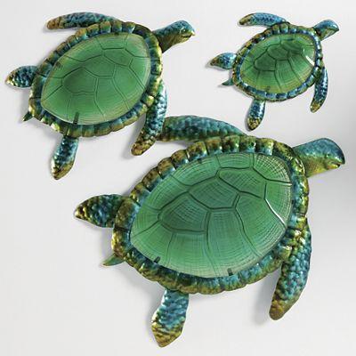 Turtle Wall Décor Set
