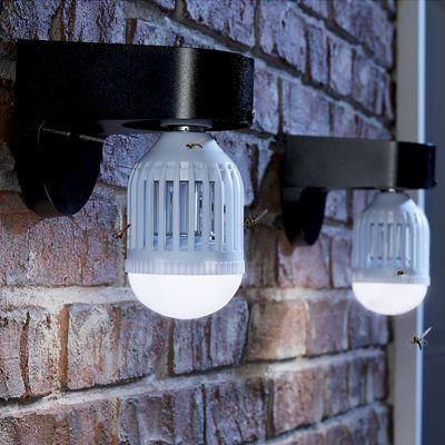 Set of 2 LED Bug Zapper Light Bulbs