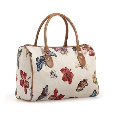 Tapestry Butterfly Garden Satchel