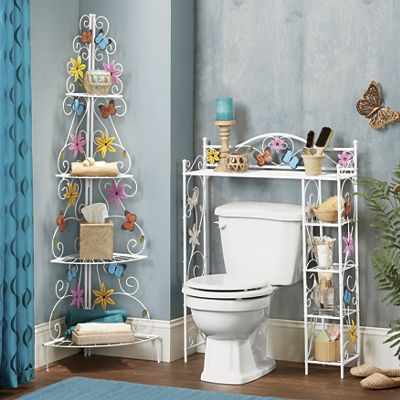 Butterfly Space Saver and Shelf