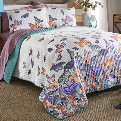Monarch Butterfly Quilt and Sham