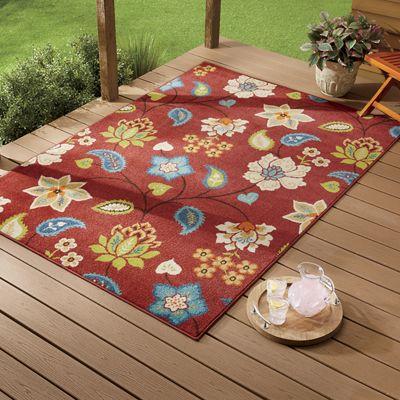 Garden Chintz Indoor/Outdoor Rug