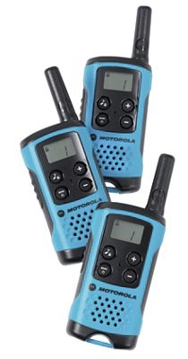 Set of 3 Talkabout 2-Way Radios by Motorola