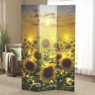 Sunflower LED Room Screen
