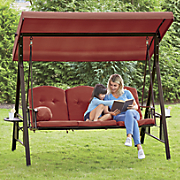 3-Seater Swing with Canopy