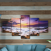 5 pc  skyline canvas set