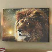 lion eyes canvas