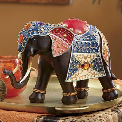 Rasha Elephant Figurine