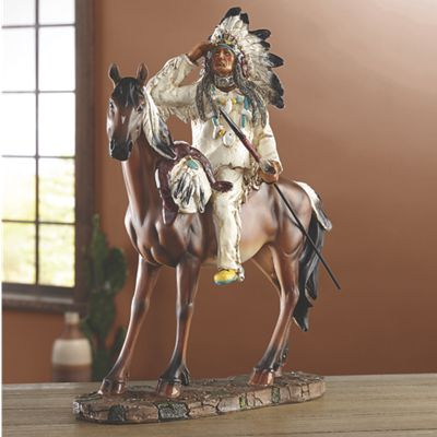 Indian Chief Figurine