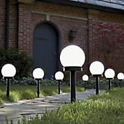 Set of 4 Solar Globe Lights
